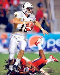 Wyoming quarterback Brett Smith in action last season at Fresno State.