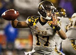 Jason Thompson in action last season for Wyoming as a true freshman.