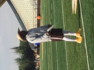 Mike Grant and his large cowboy hat